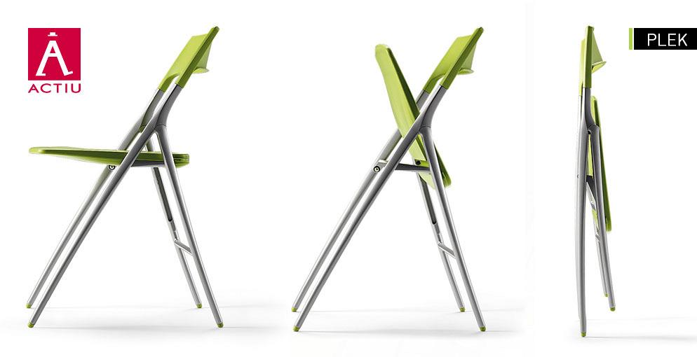 Aluminum Folding Chair, Plek