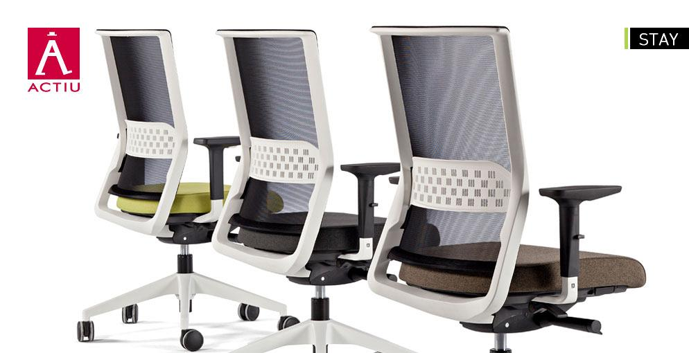 Stay, a new concept of the office chair