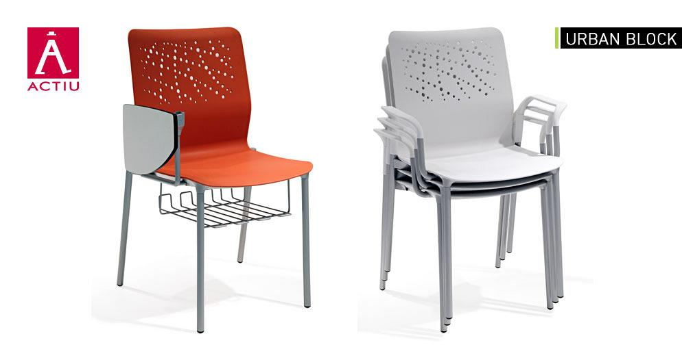 Urban Block chairs