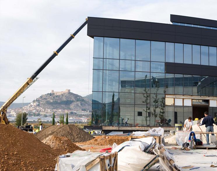 Finalización edificios