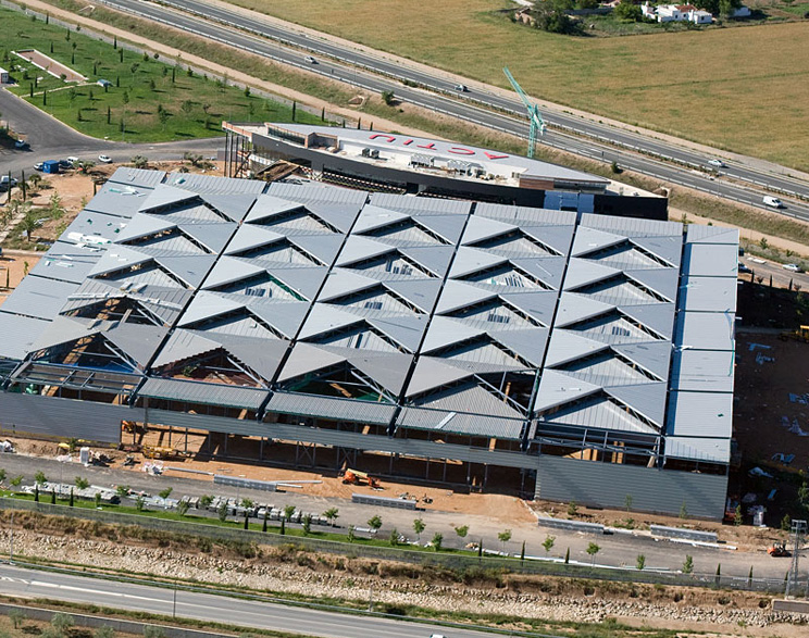 Finalización del Edificio Logístico