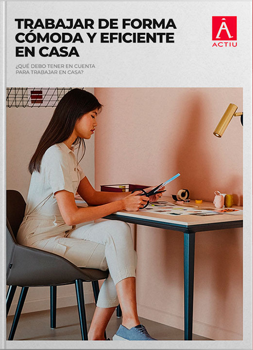 Trabajar de forma cómoda y eficiente en casa