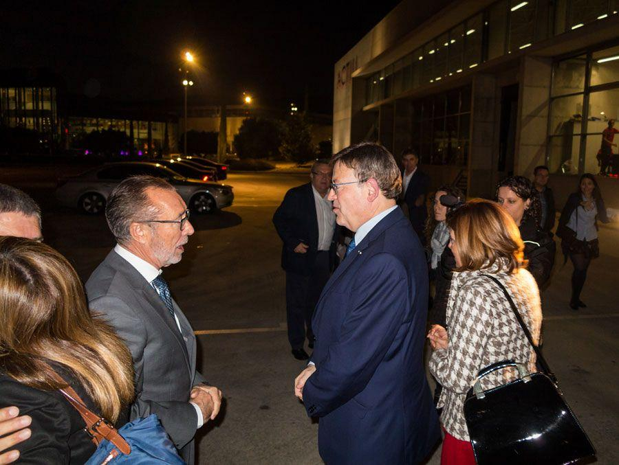 Actiu hosts a meeting between a hundred entrepreneurs and president of the Valencian government 2