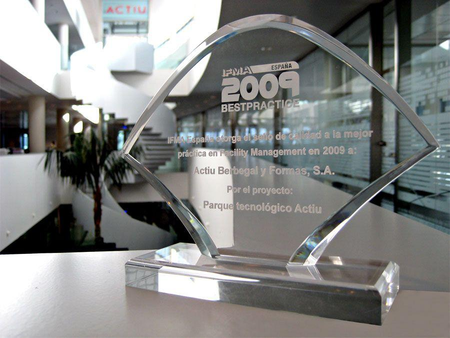 Actiu, Best Practice 2009, in World Workplace 2010 1