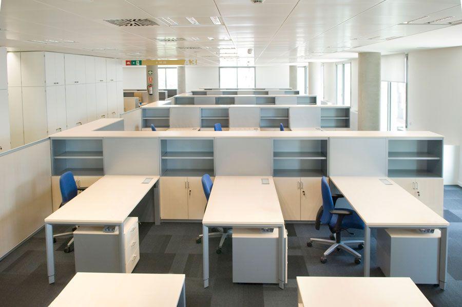 Actiu equipa la nueva sede del banco sabadell for Buscador oficinas sabadell