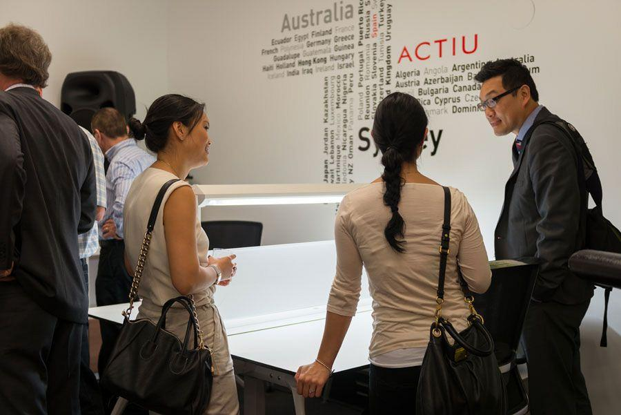 Actiu opens a new showroom in Australia which will be a networking center for European companies 5