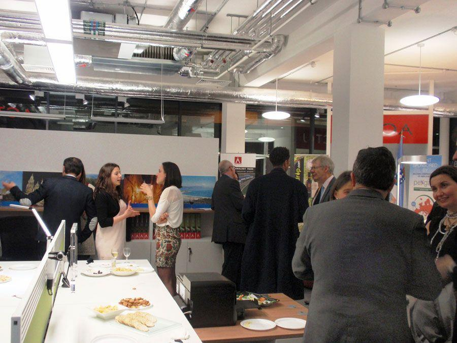Actiu London Showroom, networking stage of Spanish culture and cuisine 10