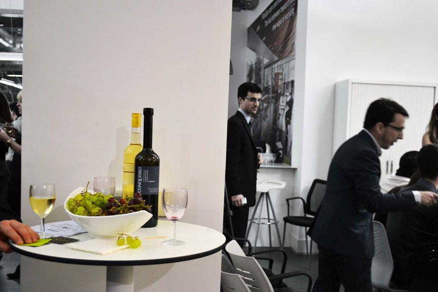 Actiu London Showroom, networking stage of Spanish culture and cuisine 2
