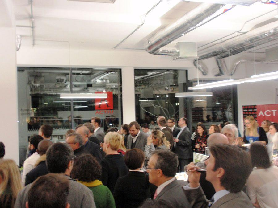Actiu London Showroom, networking stage of Spanish culture and cuisine 8