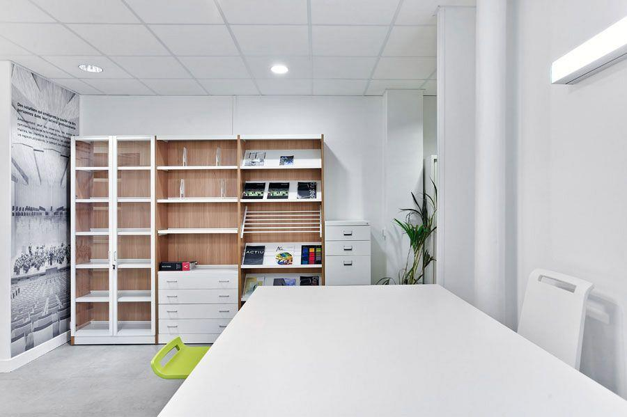 Le Showroom Actiu Paris: Son propre caractère en mobilier de bureau et de contract 11
