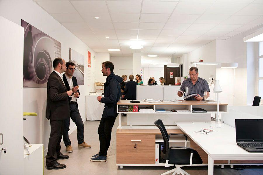 Le Showroom Actiu Paris: Son propre caractère en mobilier de bureau et de contract 5