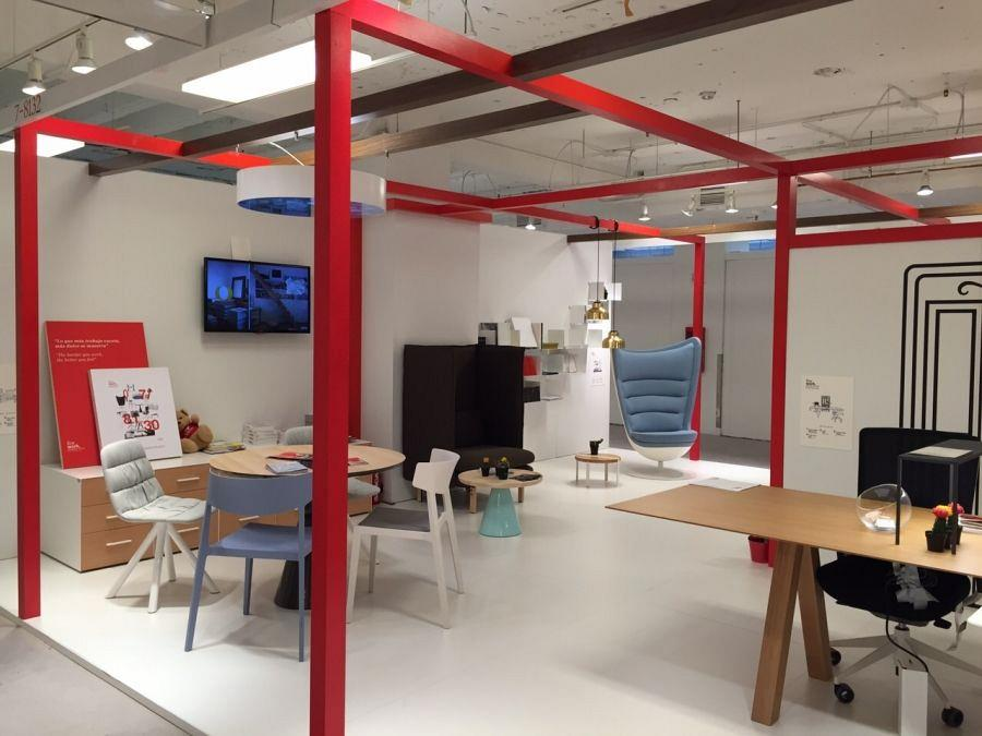 Actiu participates at the most important interior architecture fair in the USA 1