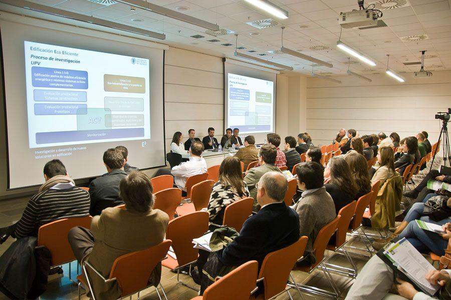 Actiu promotes Ecoconstruction, Rehabilitation and Sustainable town planning at Novabuild 2012 1
