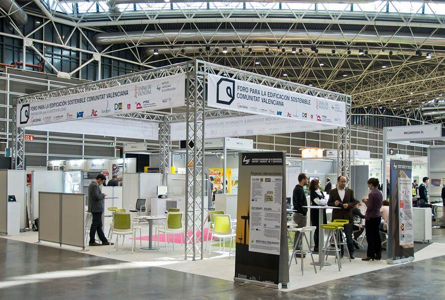 Actiu promotes Ecoconstruction, Rehabilitation and Sustainable town planning at Novabuild 2012 3