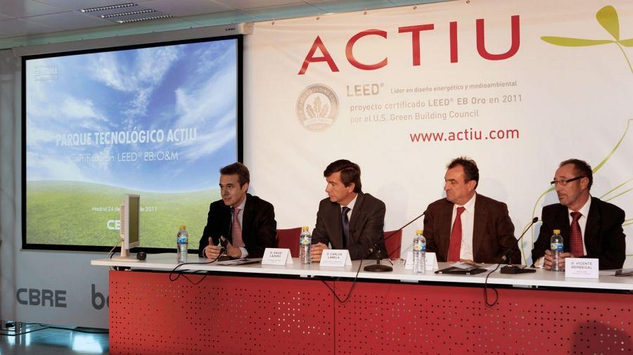Actiu renown as the most sustainable industry in Europe 9