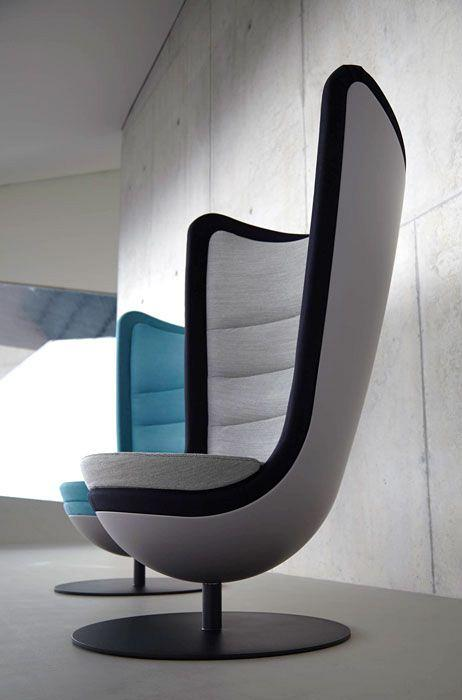 Badminton, the sound absorbing armchair that activates your creativity 3