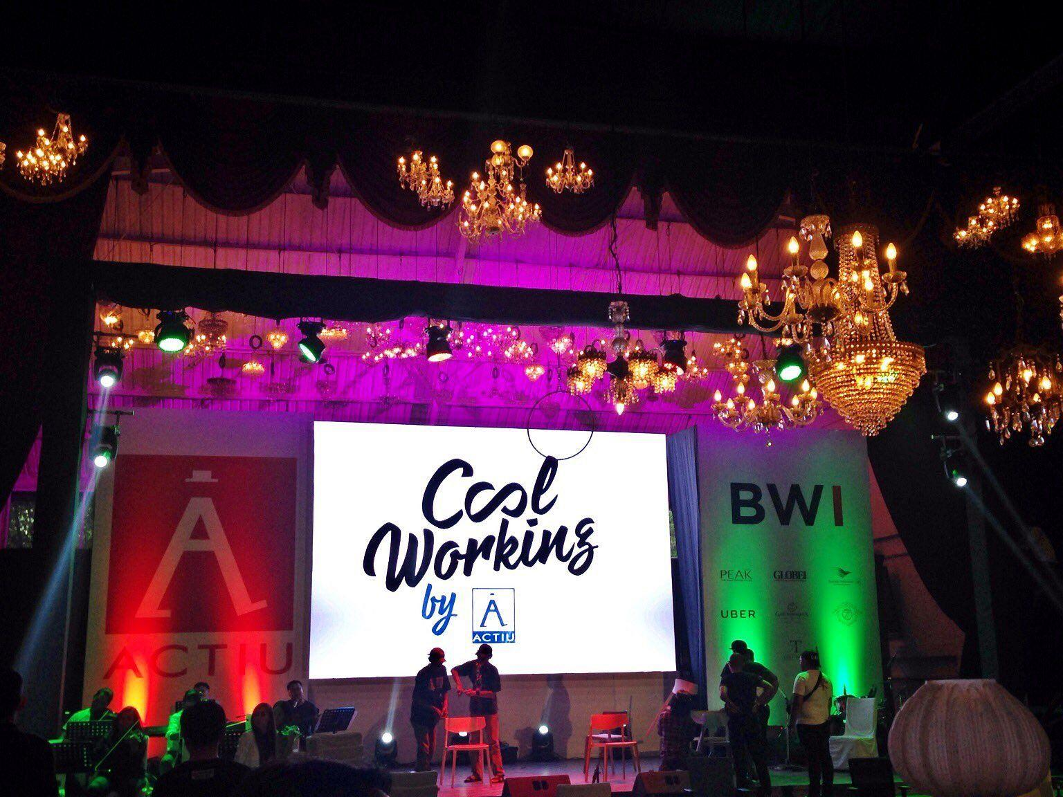 In a multitudinous event, BWI introduces the brand Actiu to the Indonesian market 10