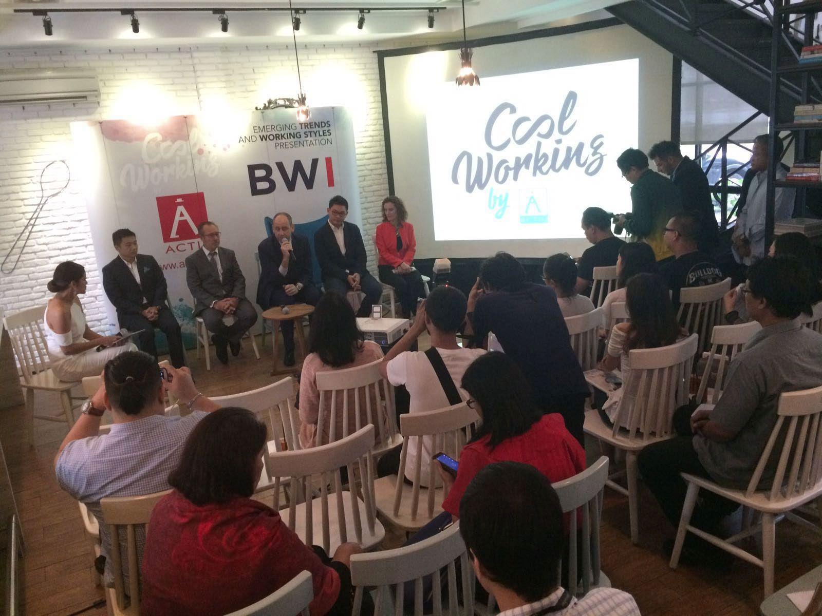 In a multitudinous event, BWI introduces the brand Actiu to the Indonesian market 2