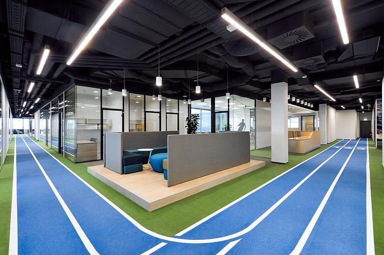 Sportisimo project in the Czech Republic. A sports stadium to work as athletes