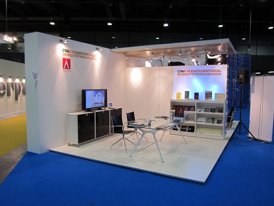 The Official College of Architects and Actiu, together at Cevisama 2012 3
