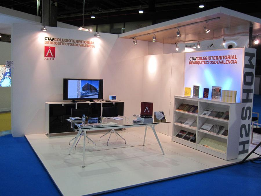 The Official College of Architects and Actiu, together at Cevisama 2012 4