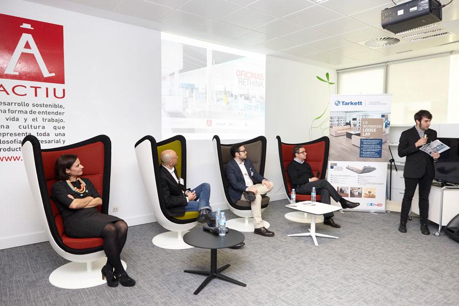 El futuro de los espacios de trabajo en oficinas rethink for Espacios para oficinas