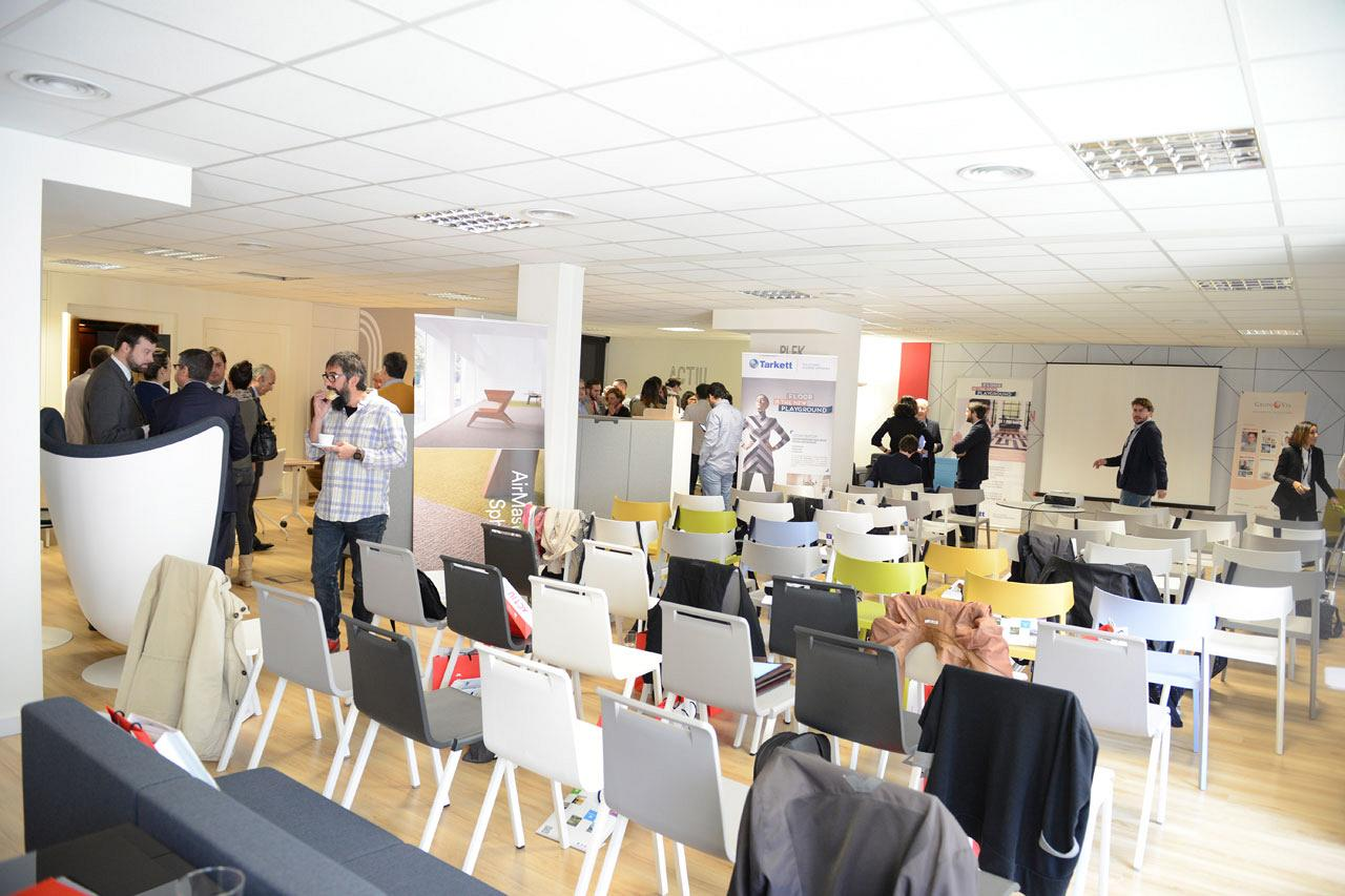 Le showroom d'Actiu de Barcelone a accueilli le 1er forum sur le Workplace Strategy : Facility Management 2