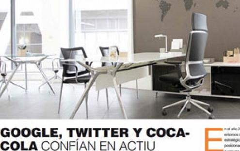 Google, Twitter and Coca-Cola trust on Actiu