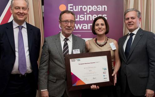 "The company Actiu, from Valencia, is ""National Champion"" in the European Business Awards."