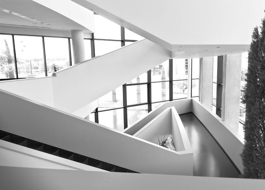 Actiu Technology Park staircases, a differentiating architectural element 7