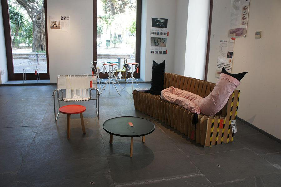 Actiu's Red Dot chairs at the night of Architecture, Design and Solidarity 8