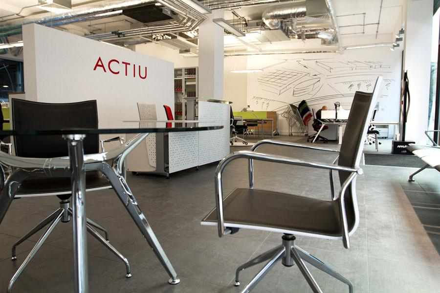 The new opening of Actiu London Showroom 2