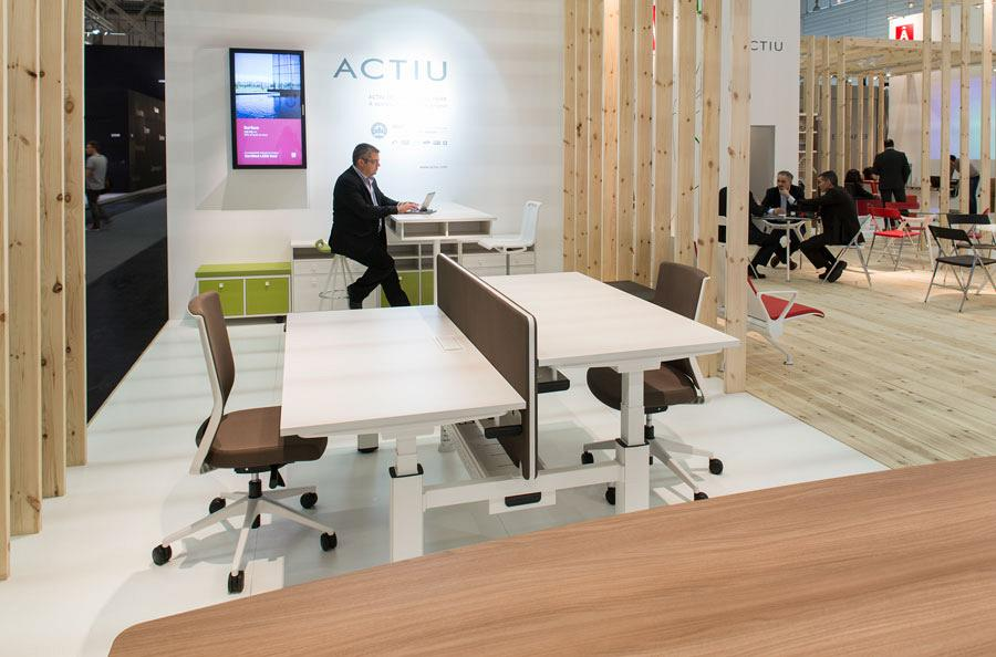 Actiu suggests some new solutions at Orgatec 2012 which promote teamwork 8
