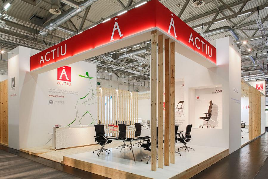 Actiu suggests some new solutions at Orgatec 2012 which promote teamwork 1