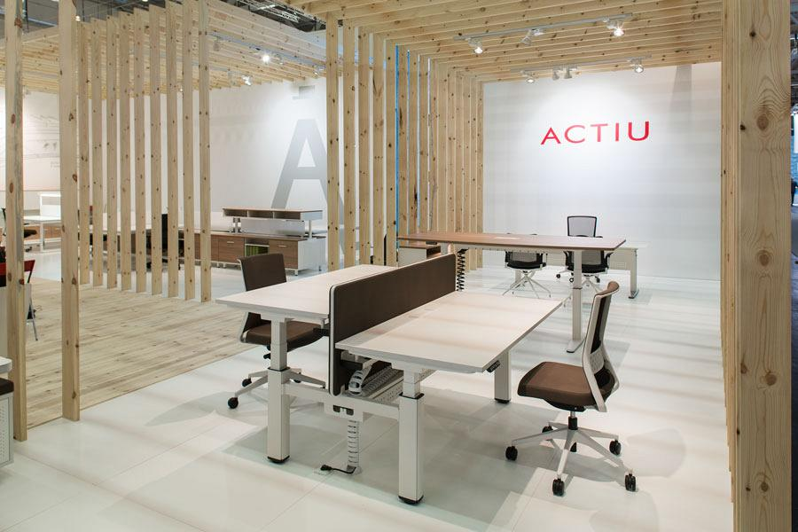 Actiu suggests some new solutions at Orgatec 2012 which promote teamwork 9