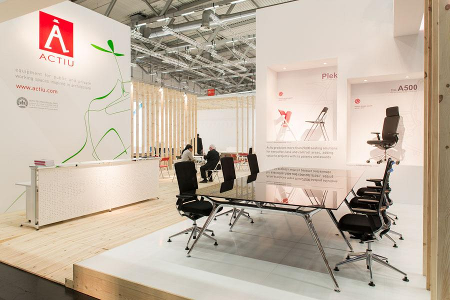 Actiu suggests some new solutions at Orgatec 2012 which promote teamwork 3