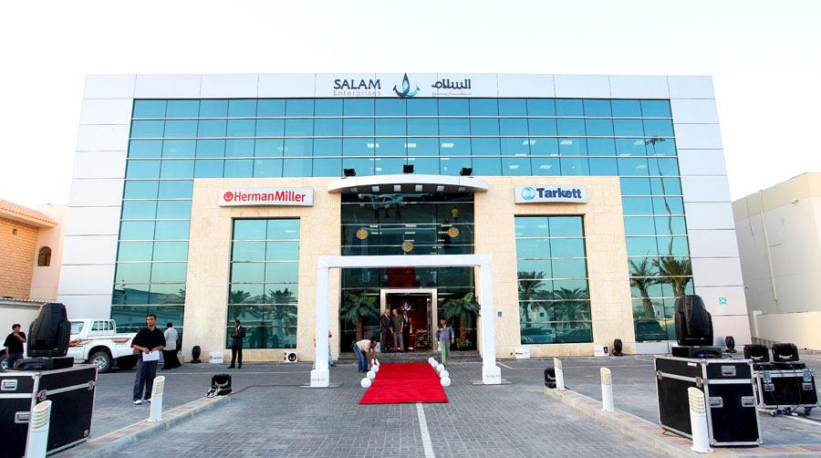 Salam and Actiu strengthen their relations in the Middle East 1