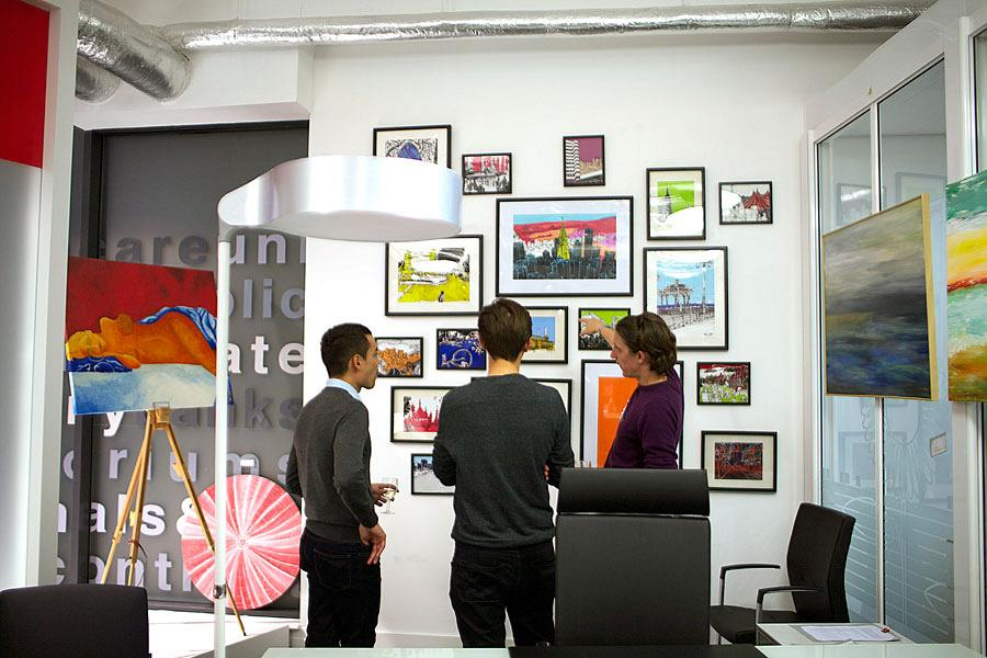 Actiu London Showroom. Art and Architecture in its purest form 8
