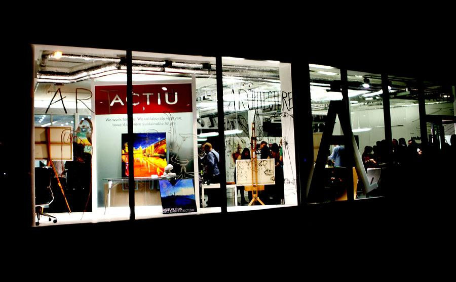 Actiu London Showroom. Art and Architecture in its purest form 1