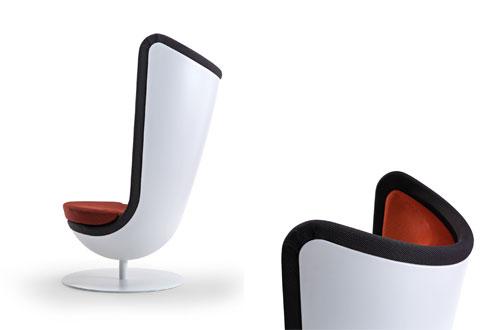 Badminton, el sillón fonoabsorbente que activa tu creatividad 3
