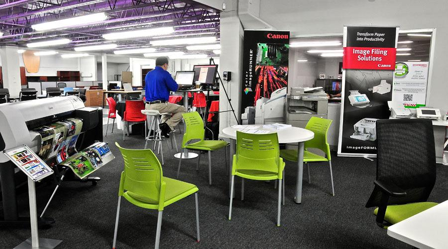 Systronics merge technology and Actiu furniture into its new offices in Puerto Rico 2
