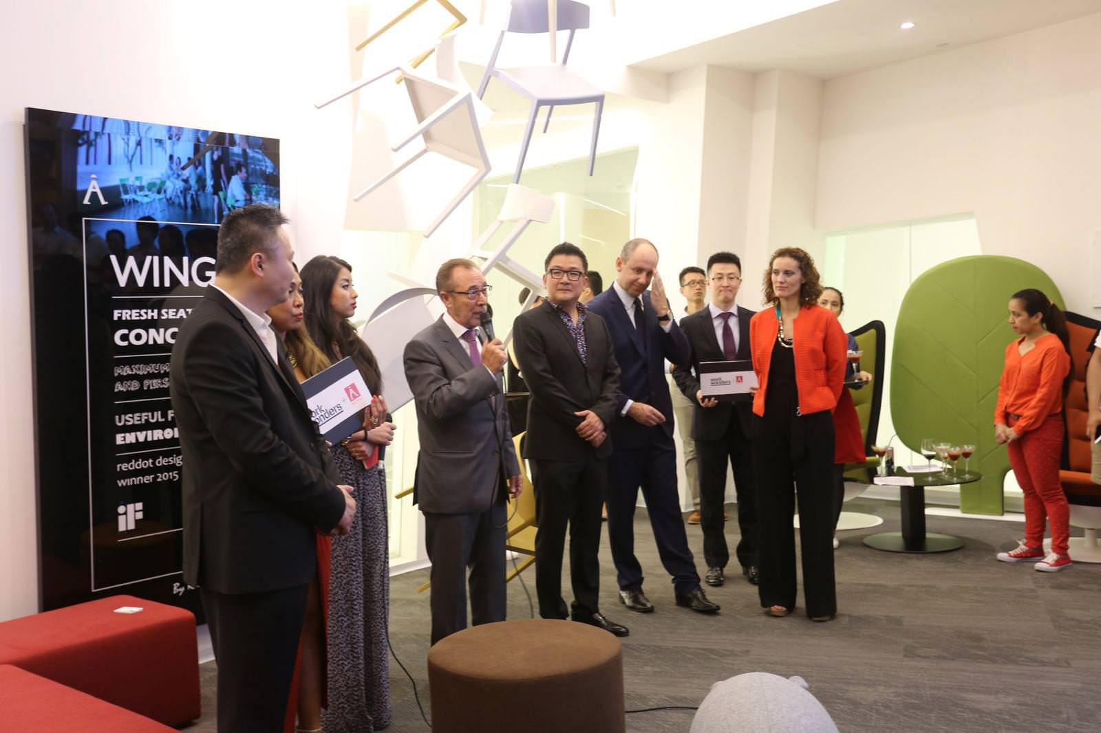 Work Wonders and Actiu join forces to walk side by side in the Chinese market 11