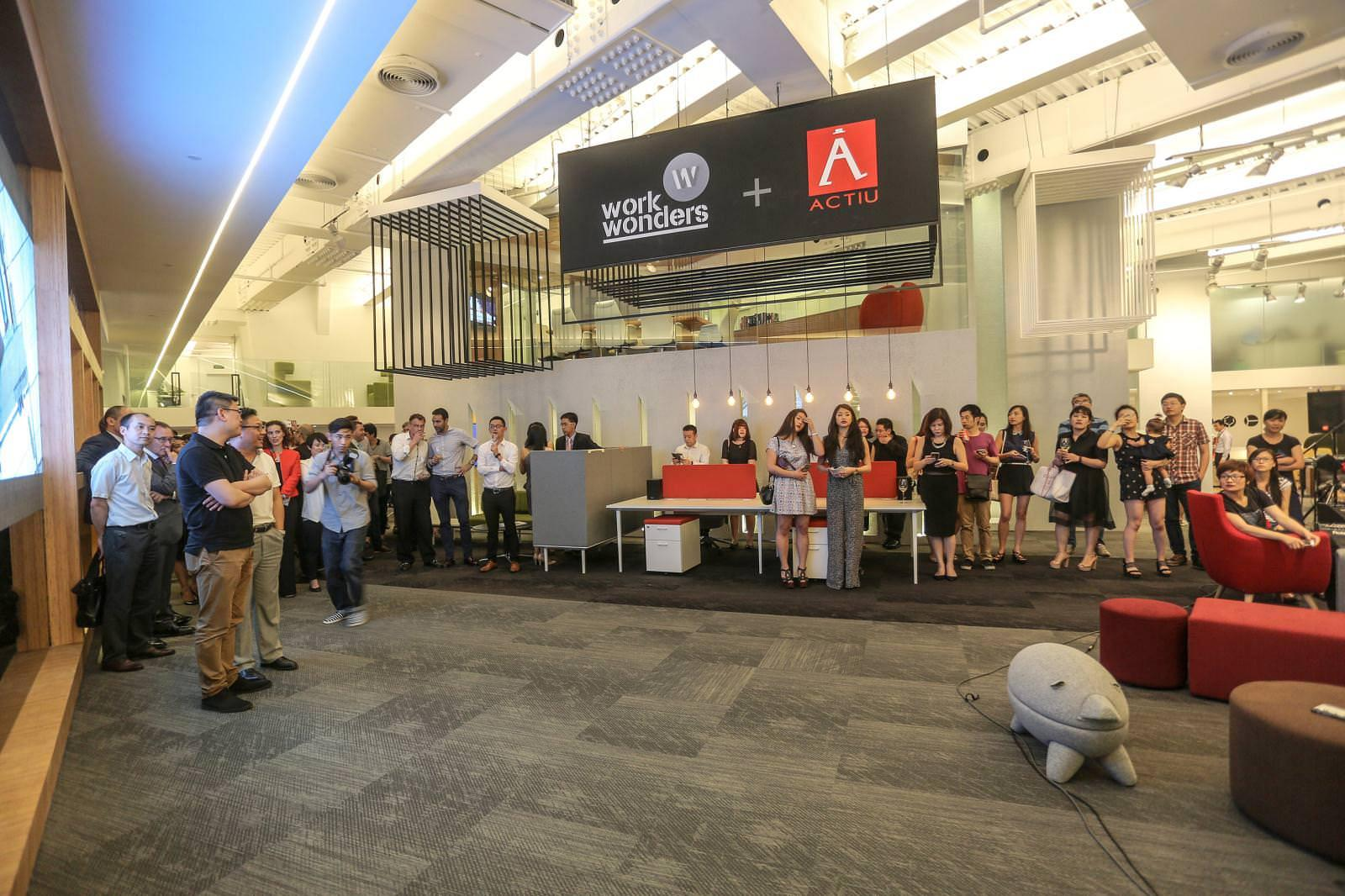 Work Wonders and Actiu join forces to walk side by side in the Chinese market 7