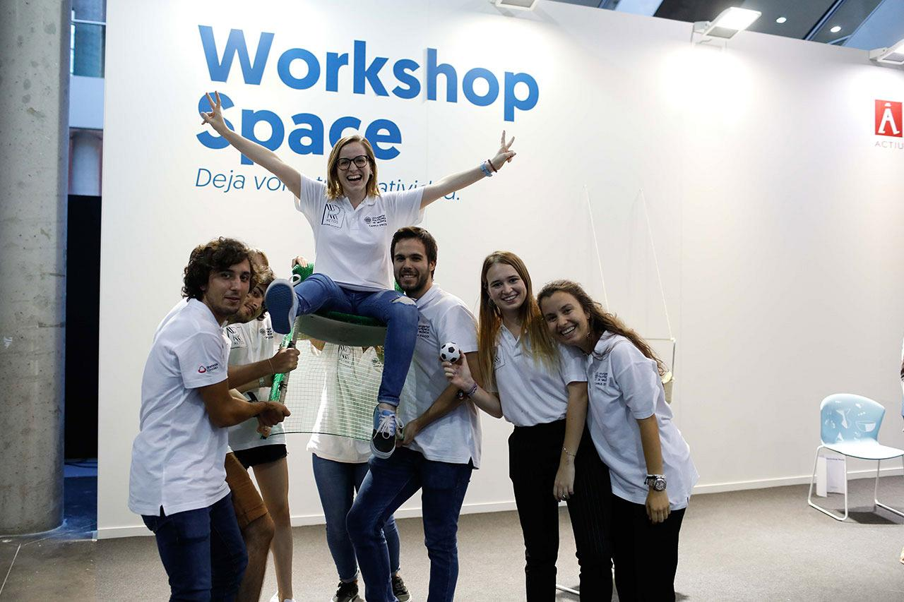 Actiu Workshop: Young talent open up new horizons for the Whass chair 7
