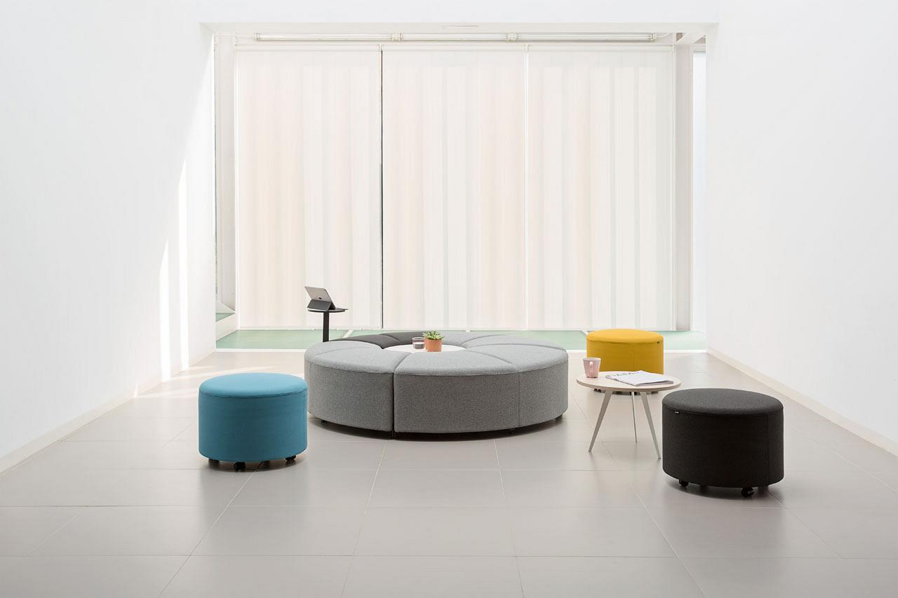 bend soft seating that can transform and adapt to any space
