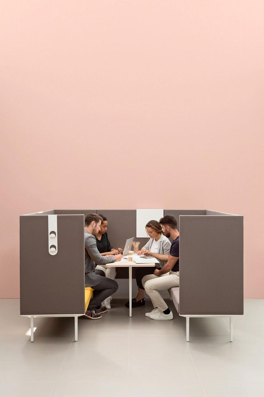 Longo Fuses Soft Seating With The Office Using A Platform