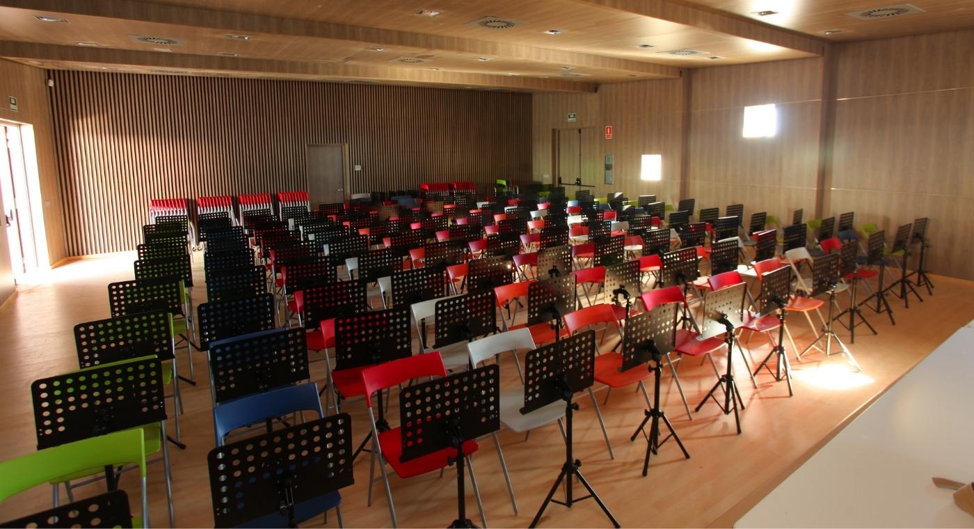 Music Classroom Design ~ Torrevieja auditorium