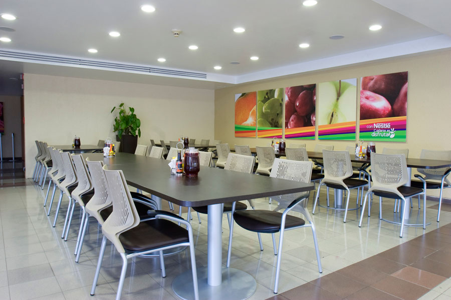 Real Canteen Projects With Actiu Furniture