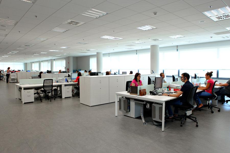 Tempe for Oficinas centrales inditex